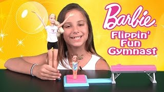 Barbie Flippin' Fun Gymnast Unboxing