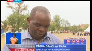 Mdahalo  Wadi ya Imara : Wapiga kura wawadadisi waaniaji