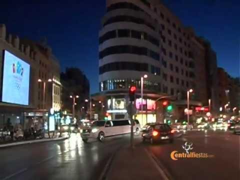 Limusinas para cumpleaños en Madrid