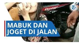 Video Viral di Twitter, Perempuan Diduga Mabuk dan Joget di Pinggir Jalan