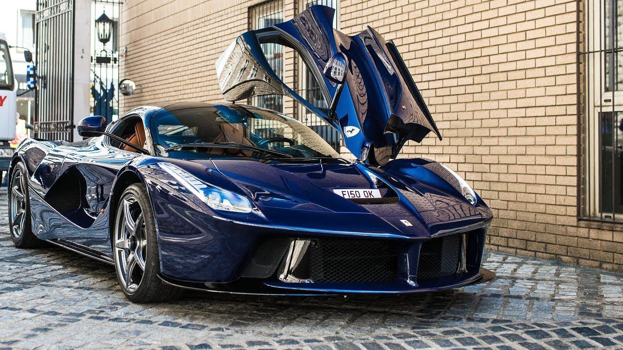[VIDEO] Chiêm ngưỡng siêu phẩm Ferrari LaFerrari của tay trống Nick Mason ở London