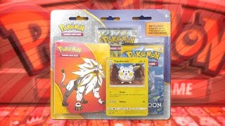 Togedemaru  - (Pokémon) - Opening a Togedemaru Pokemon Sun & Moon 2 Pack Blister of Pokemon Cards!