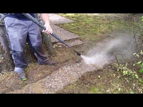 Reinigung mit Kärcher K7 & Flächenreiniger T350 & Dreckfräse