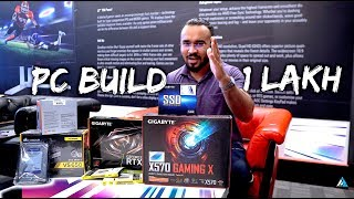[HINDI] BEST PC Gaming BUILD Under 1 lakh RUPEES in India 2019 w/ Ryzen 7 3700X
