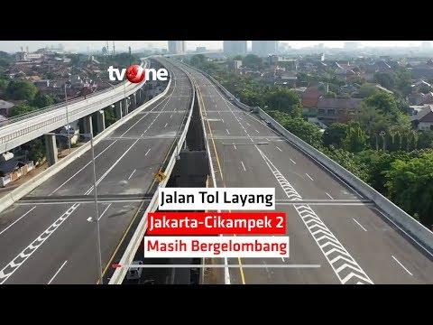 Jalan Tol Layang Jakarta Cikampek 2 Masih Bergelombang