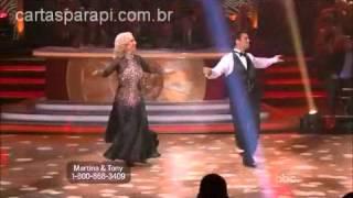 DWTS 14 Semana 1 - Martina & Tony
