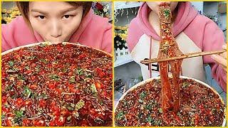 Eating Fast   Spicy Noodles Eating   #ASMR #mukbang