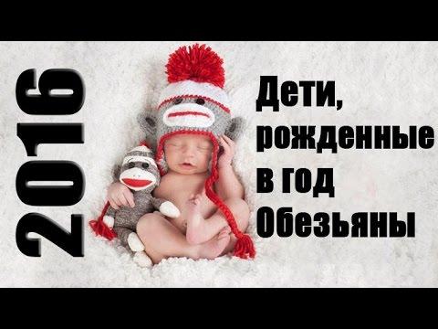Дети, рожденные в год Обезьяны 2016(Общая характеристика)