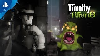 Timothy vs the Aliens – Launch Trailer | PS4