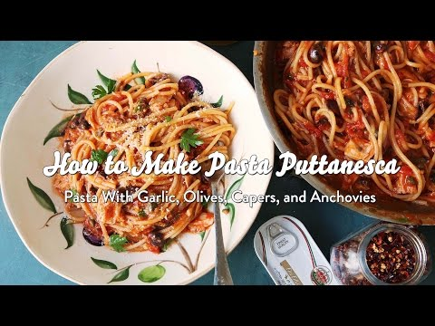 Video How to Make Pasta Puttanesca