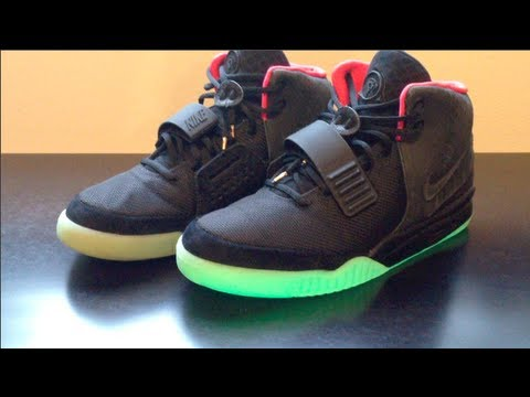 96f1ff147ac67 Shoe pickup  Air Yeezy 2 Solar Red with on feet video