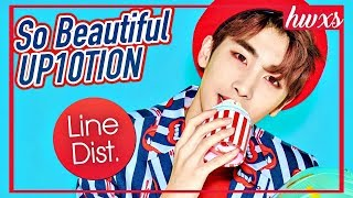 업텐션 UP10TION - So Beautiful (Line Distribution)