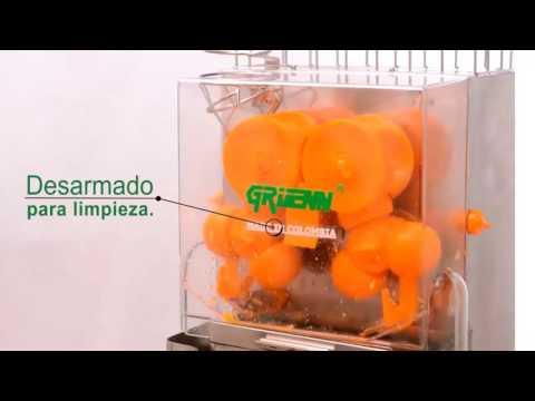 Máquina de jugo de naranja - Exprimidor de naranjas, mandarinas y limones X-30