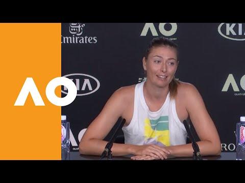 "Maria Sharapova: ""She definitely stepped up"" | Australian Open 2020 R1"