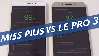 Xiaomi Mi 5S Plus Vs LeEco Le Pro 3 Speed Test & Comparison