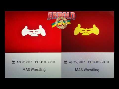 Arnold Schwarzenegger visited Mas-Wrestling platform in São Paulo