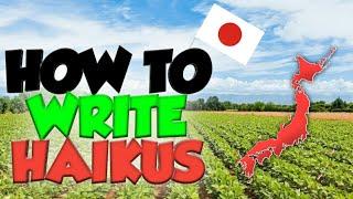 How To Write a Haiku - Top Tips