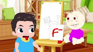 Johny Johny  Пингвины семейные рифмы  - Образовательное видео для детей