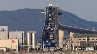 view生活道路が観光名所に江島大橋ベタ踏み坂鳥取・島根県境