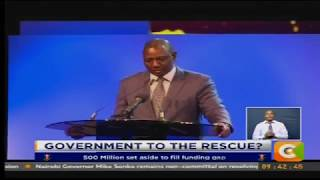 """Ruto pledges government support for """"cash-strapped"""" sports"""