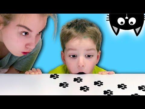 ПРОПАЛ КОТЕНОК Светы и Богдана! Видео для детей