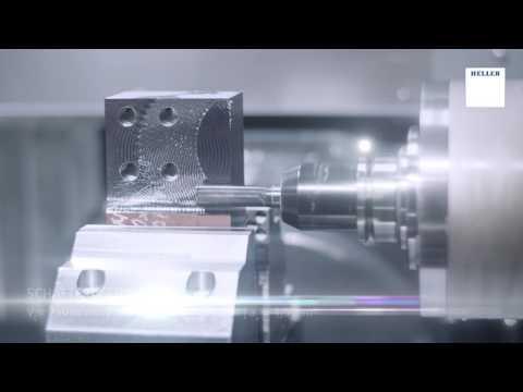 5-Achs-Bearbeitungszentrum HELLER HF3500 - Bearbeitung Klaue