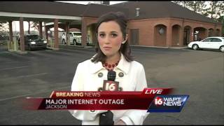 Internet down in areas of Jackson