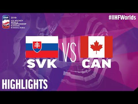 Slovakia vs. Canada - Game Highlights - #IIHFWorlds 2019