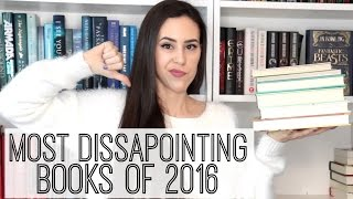 Most Disappointing/Worst Books Of 2016