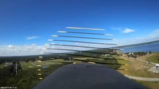 Plum Island RC plane flying