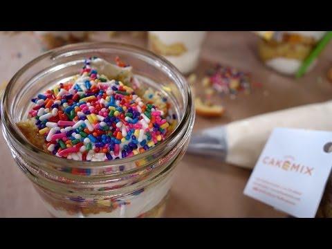 Video Confetti Cake in a Jar w/ Duff Goldman | Just Add Sugar