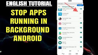 How To Stop/Close Background Running Apps On Android [ Without Any App ]