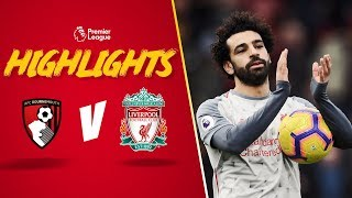 Salah nets a hat-trick | Bournemouth 0-4 Liverpool | Highlights