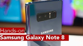 Samsung Galaxy Note 8 Hands-on