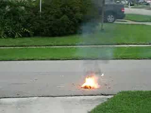 Gasoline on Firecrackers