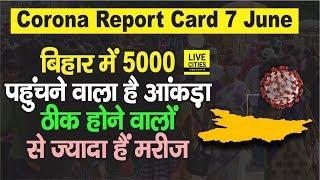 Bihar में 5000 पहुंचने वाला है संक्रमित मरीजों का आंकड़ा, 7 June की आ गई पूरी लिस्ट | Bihar News - Download this Video in MP3, M4A, WEBM, MP4, 3GP