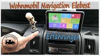 Wohnmobil Navigation Elebest ★ meine Erfahrungen im Kastenwagen ★  Praxistest