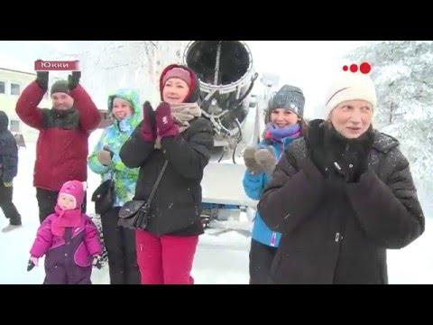 Видео: Видео горнолыжного курорта Юкки Парк в Ленинградская область