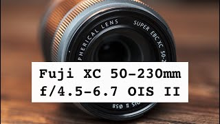 Fuji 50-230mm f/4.5-6.7 - Never thought I'd buy an XC lens