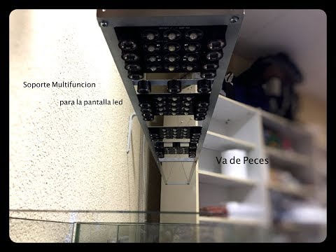Soporte multifuncional para la pantalla de led