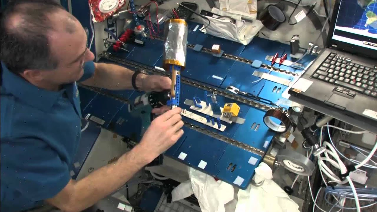 Watch These Astronauts Generate Electricity In Space With Lego
