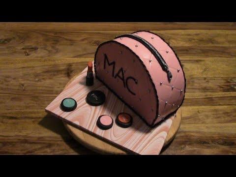 Мастер-класс приготовления торта в форме косметички