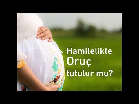 Hamilelikte oruç tutulur mu?