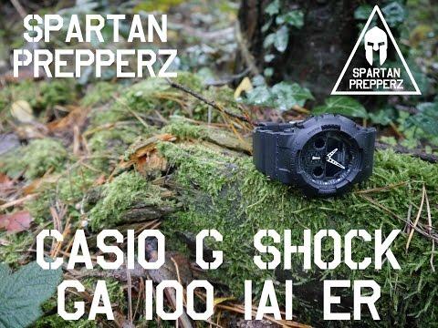 Die Perfekte Outdoor Uhr? Test: Casio G-Shock GA-100-1A1ER