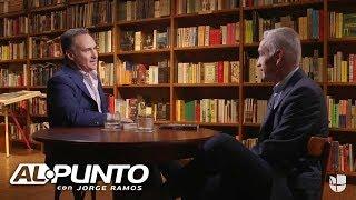 """""""Estamos rompiendo un muro"""": Jorge Ramos y José Díaz-Balart en entrevista por primera vez en décadas"""