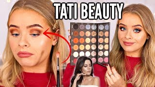 TATI BEAUTY TEXTURED NEUTRALS PALETTE.. FIRST IMPRESSIONS/REVIEW