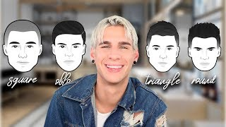 HOW TO PICK THE CORRECT HAIRCUT FOR YOUR FACE SHAPE: MENS EDITION!