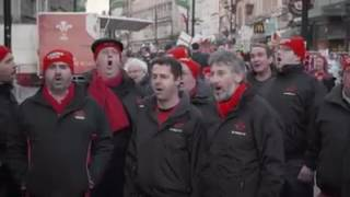 Welsh Rugby Fans Sing Bread Of Heaven Before 6 Nations Game