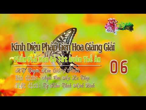 Phẩm Phổ Môn Bồ Tát Quán Thế Âm Thứ Hai Mươi Lăm 6/10
