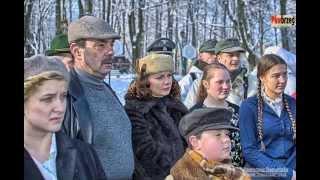 preview picture of video 'inscenizacja Mikołów 1945 - krótki reportaż przed inscenizacją'